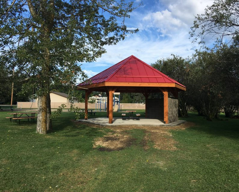 Sunset Point, Alberta - Gazebo